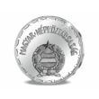 // 2 forint  Ag 999  3 g  22 mm //Színezüst 2 forint  Kádár-korszak  1970  utánveret  másolat  nem pénz  replica  no coin