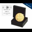 // eredeti érme 4 dukát  Különleges  nagy aranysúlyú lövészérem  aranyozott rézötvözet  utánveret  másolat  nem pénz  replica  no coin