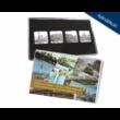 A Duna-part látképe mozaikérmeken