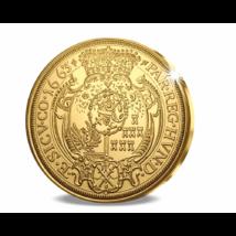 // eredeti érme 5 dukát, Erdélyi fejedelmi aranyritkaság, aranyozott rézötvözet, utánveret, másolat, nem pénz, replica, no coin