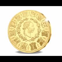 // eredeti érme 4 dukát, Különleges, nagy aranysúlyú lövészérem, aranyozott rézötvözet, utánveret, másolat, nem pénz, replica, no coin