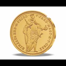 Magyar aranyritkaság - Szabadságharcos aranydukát, 1848, utánveret, másolat, nem pénz, replica, no coin