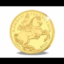 Magyar aranyritkaság - Rákóczi arany 40 pengő, 1935