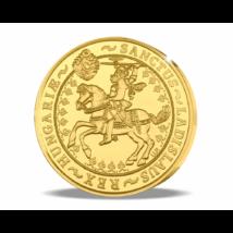 Magyar aranyritkaság - Szent László 5 pengő, 1929, utánveret, másolat, nem pénz, replica, no coin